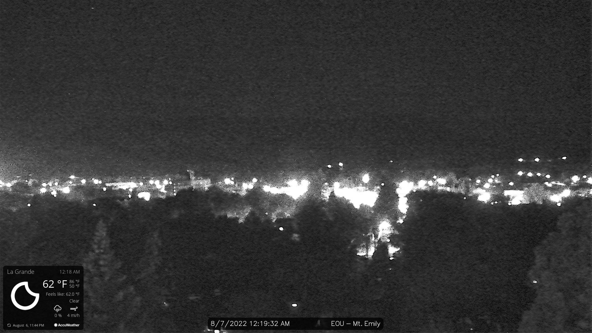 Eastern Oregon University Webcam