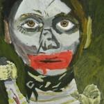 Acrylic painting by Kenn Sipp.