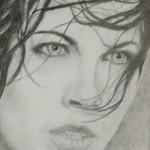 Graphite drawing by Luke Leidy.