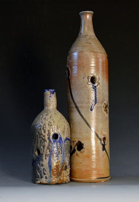 "Asa Miller, ""Untitled,"" ceramic, 5'' x 20'' (2013)."