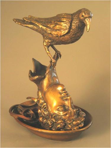 "Doug Kaigler, ""Today's Special, David's Dilemma Blackbird Pie,"" Bronze, 2004"
