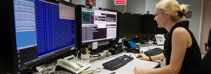 Nyki Anderson at NASA command center_cropped