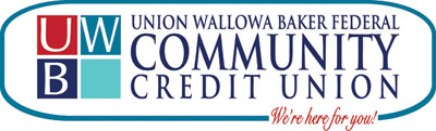 EOU graduate Amy Betts designed the new logo for the Union Wallowa Baker Federal Credit Union.