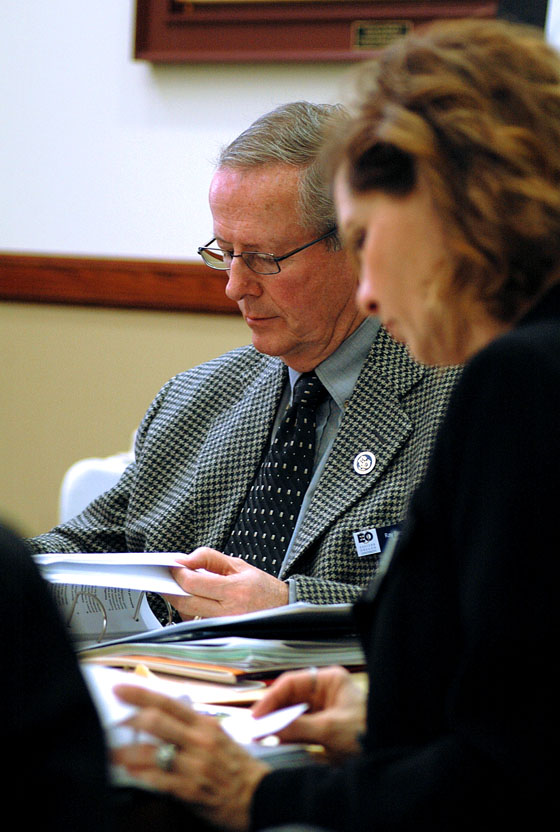 Photo by Laura Hancock / EOU's new governing board and committees will meet next week to review responsibilities related to the OUS transition, standards of measurements for success and financial resource management, among other items. All meetings are open to the public.