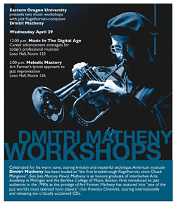 Dmitri Matheny workshop poster