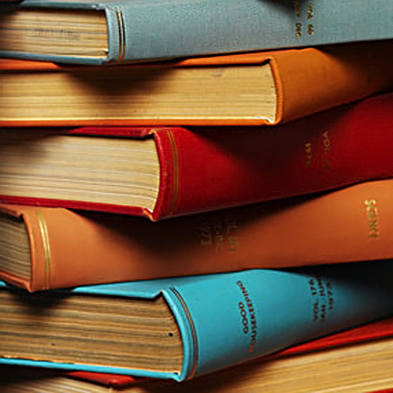 Pile of Books --- Image by © Royalty-Free/Corbis