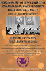 Deneil Hill lecture flyer