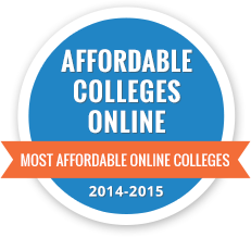 Affordable Online Colleges Badge