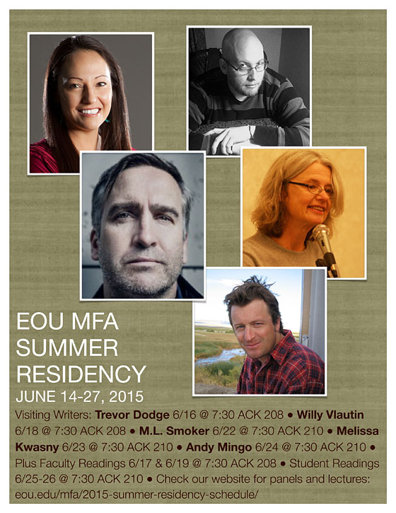 EOU MFA Summer Residency schedule