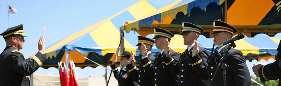 ROTC students graduate from EOU