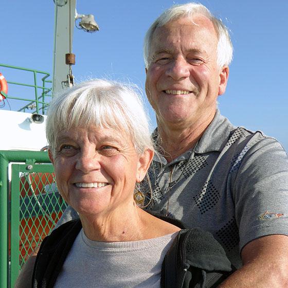 Timothy and Linda Gleeson