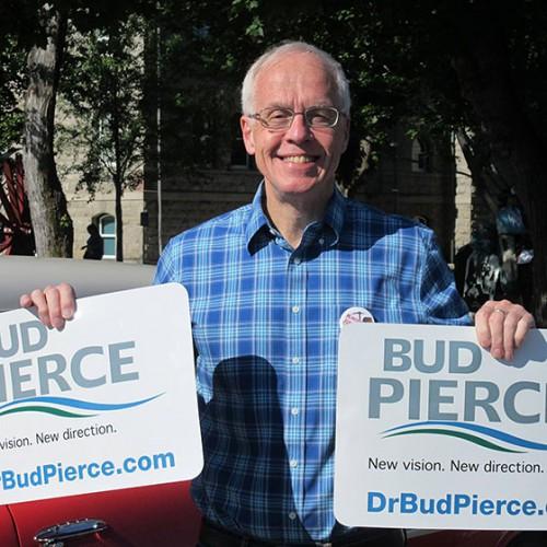 Bud Pierce-gubernatorial candidate