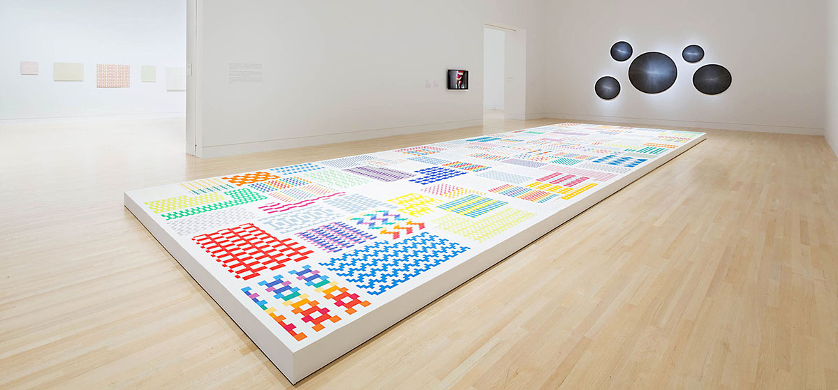 Grabner's work is currently installed at the Indianapolis Museum of Art.