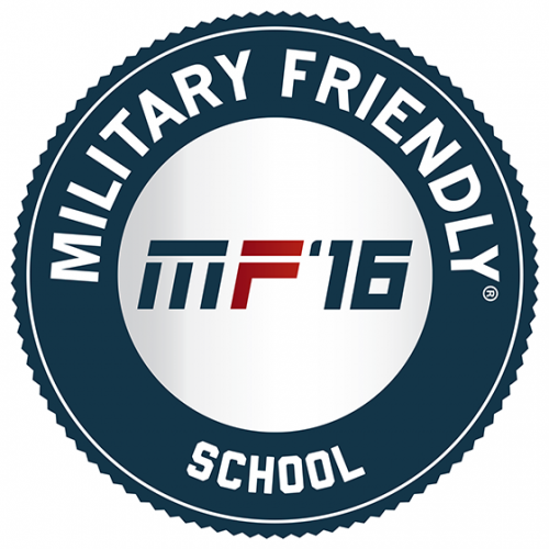 2016 Military Friendly Schools designation