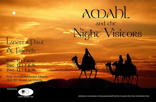 """Lanetta Paul and Friends Concert: """"Amahl and the Night Visitors"""""""