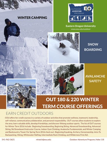 OUT 180 Winter Term Poster