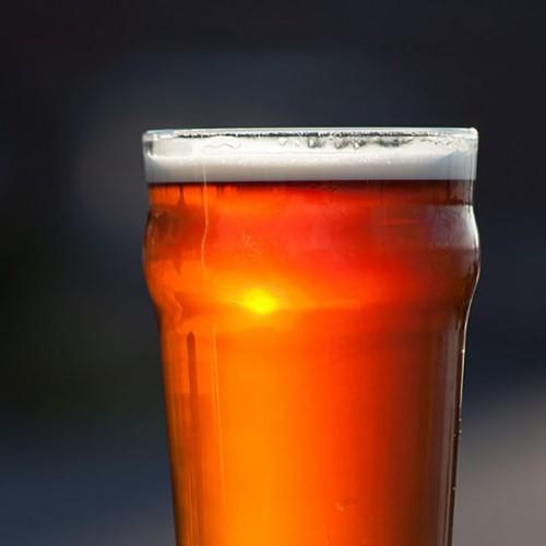 beer glass-public domain