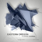 Eastern Oregon Science Journal Front Cover 2013-2015