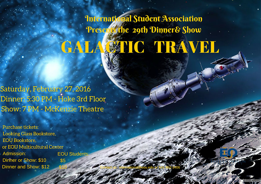 ISA Galactic Dinner and Show