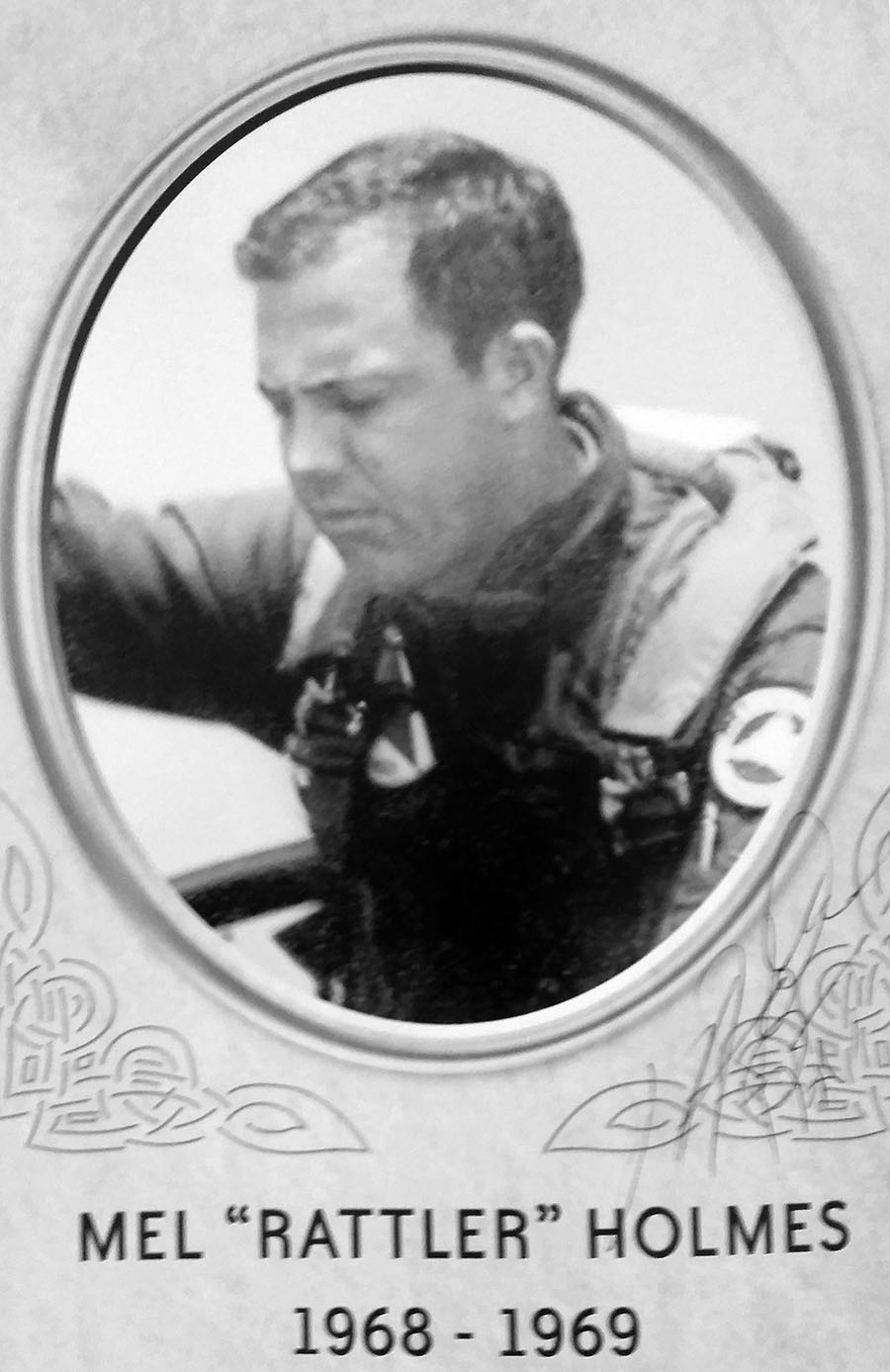 Holmes was head of the air-to-air combat department at Top Gun until 1970.