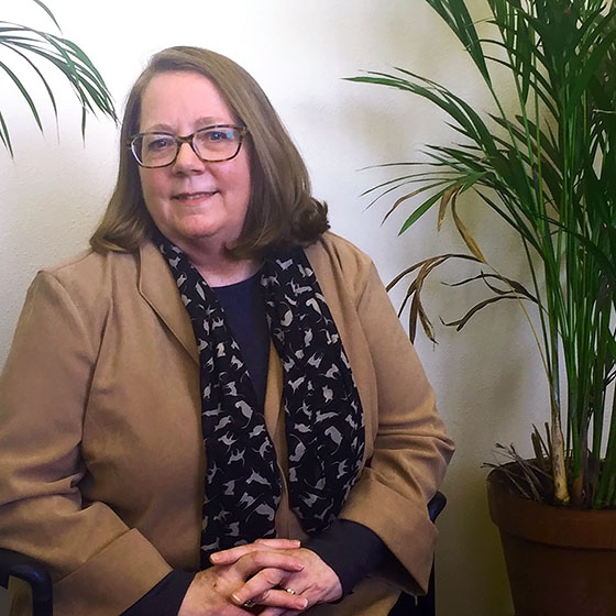 Sarah Witte is EOU's new provost and senior vice president for Academic Affairs. She has been serving in an interim capacity for the past two years and is looking forward to expanding her role.