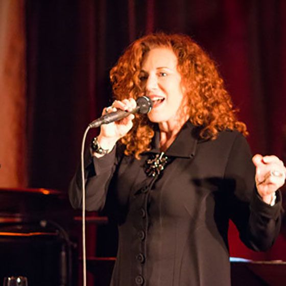 Photo by Steve Mundinger / Jazz recording artist Kathy Kosins will be on campus this week working with students and giving a special duo performance with Matt Cooper, professor of music, from 8-10 p.m. Thursday at Ten Depot Street Restaurant.