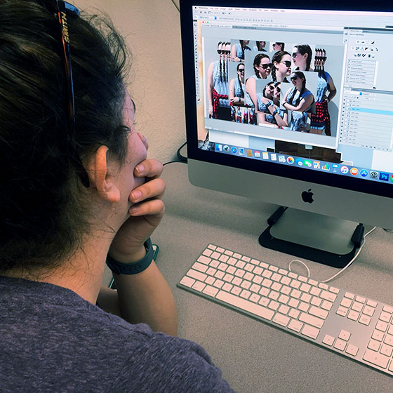 Submitted photo / Communication studies is flexible and can be paired easily with other fields of study. Students in EOU's program choose from three primary areas of interests in business, media and teaching.