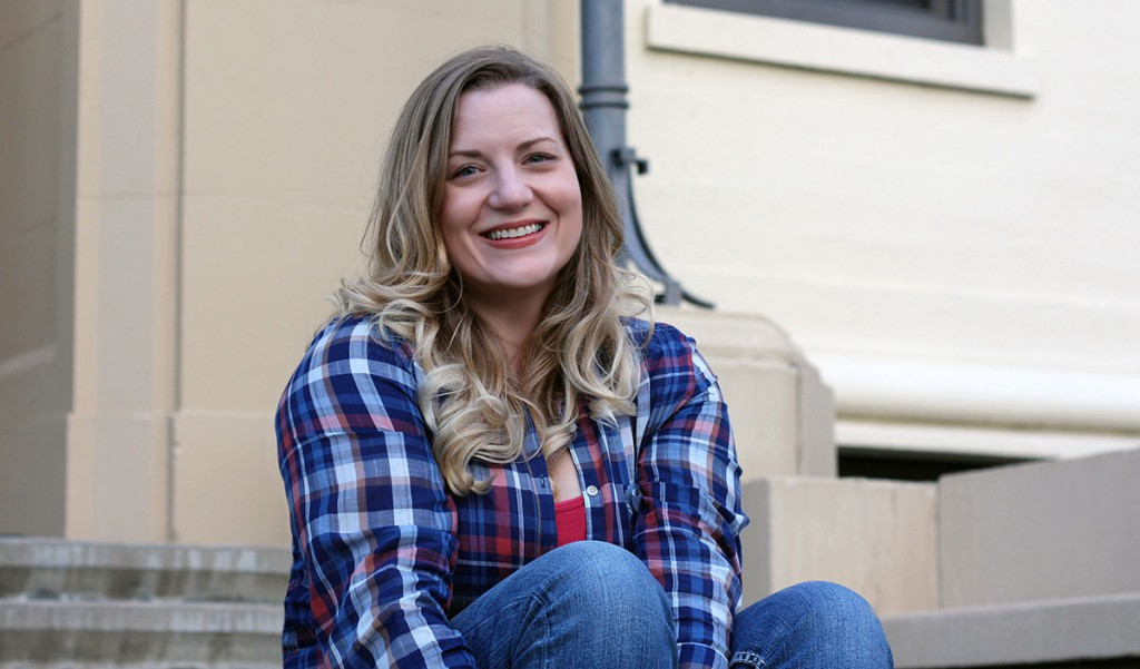 Photo by Paige Hughes / Cassie Gray-Jeffries, of La Grande, is the 2016 EOU President's Scholar.