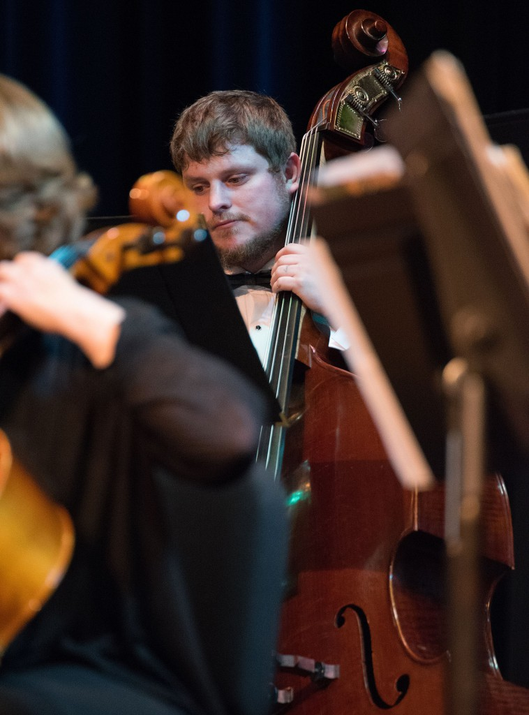 Grande Ronde Symphony Orchestra cellist