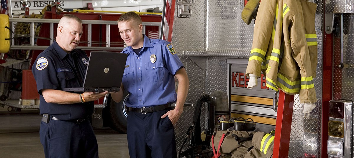 EOU file photo / Offering the only bachelor's level program for fire services administration in Oregon, EOU is filling a need for an in-demand field.
