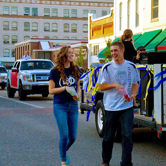EOU's Homecoming Parade through downtown is October 21.