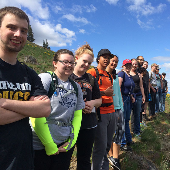 Explore the area, learn valuable skills, develop friendships and discover lifelong outdoor sports with a class like hiking this fall.