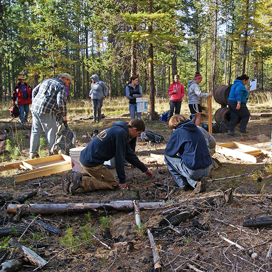 File photo / EOU's anthropology program has an existing partnership with the U.S. Forest Service, and faculty from across academic disciplines are invited to learn more about getting students engaged with internships through the new Charter Ranger District Thursday, Oct. 27.