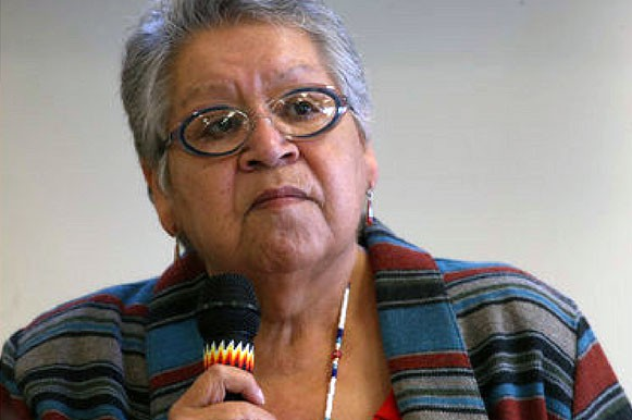 Charlotte Roderique, former chairwoman of the Burns Paiute Tribe, is giving a presentation at 6 p.m. Monday, Nov. 7 in the Loso Hall lobby on campus.