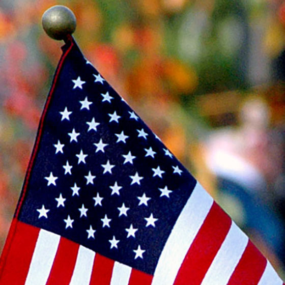 Ceremony honoring veterans starts at 10 a.m. Friday at the flagpole on University Boulevard.