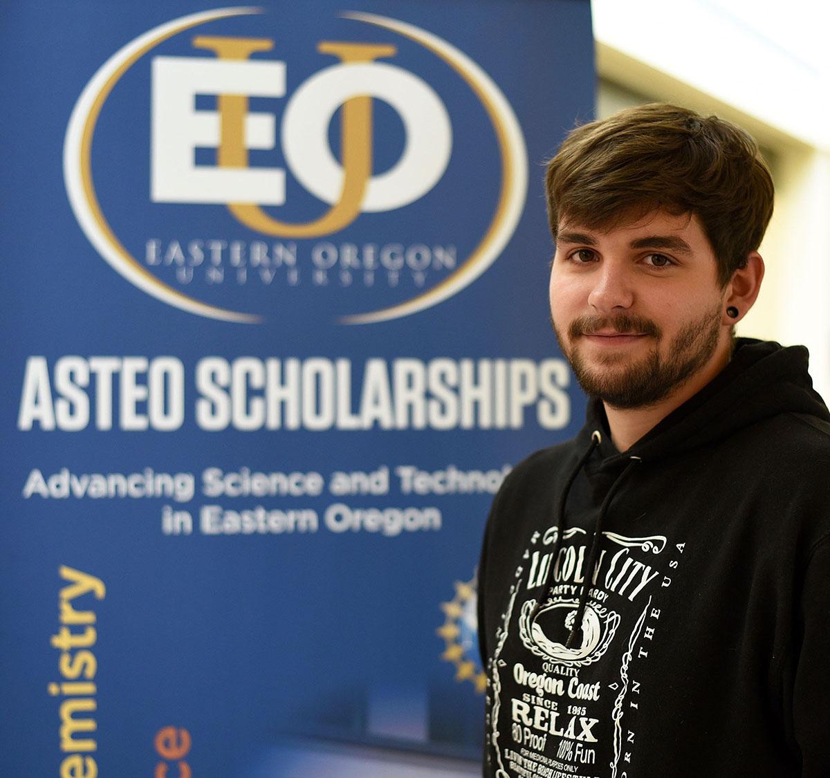 ASTEO Scholar Michael Luttrell