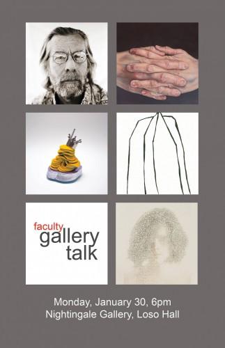 Faculty Exhibition gallery talk