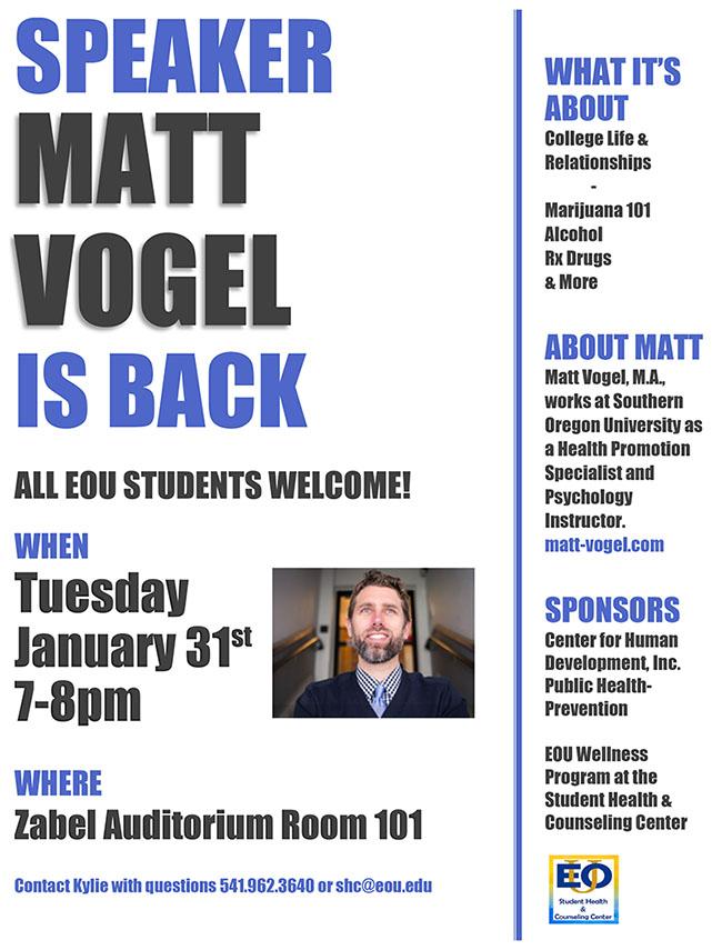 Matt Vogel student presentation