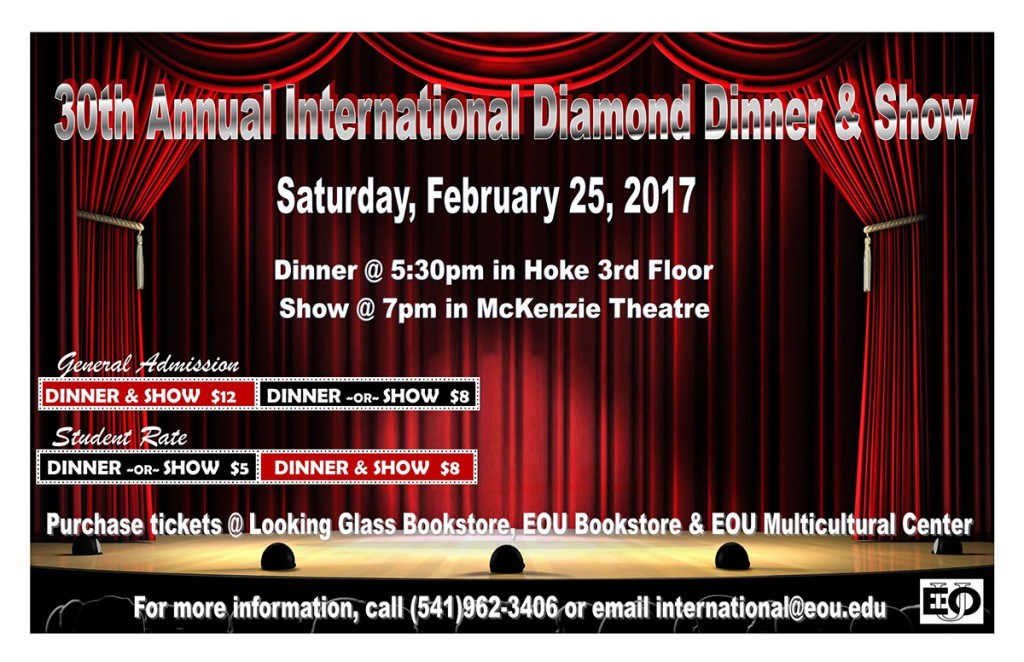 30th International Dinner and Show