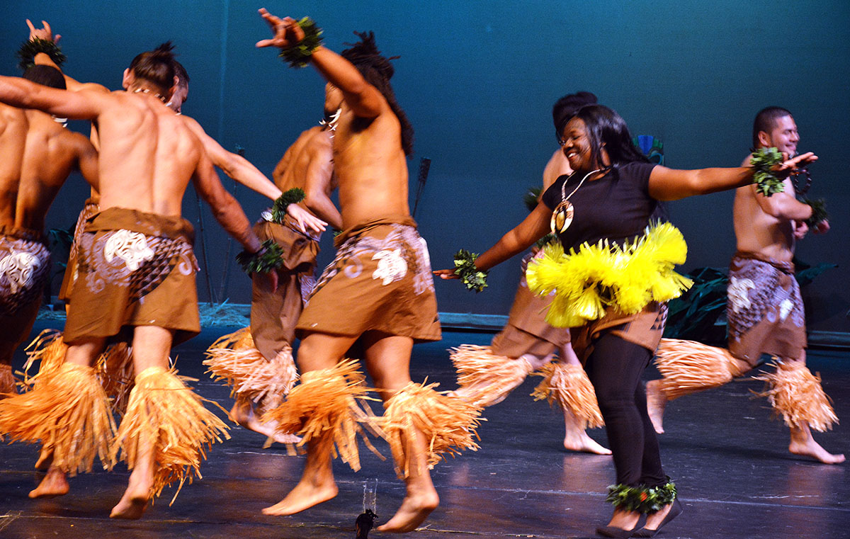 EOU file photo / Tickets to the annual Island Magic Lu'au and Show are available at EOU's Bookstore, Multicultural Center and Looking Glass Books downtown.