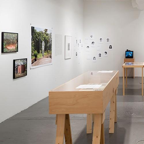 Visiting artist Mark Menjivar