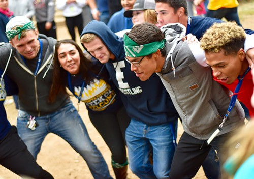 EOU students at Week of Welcome 2016