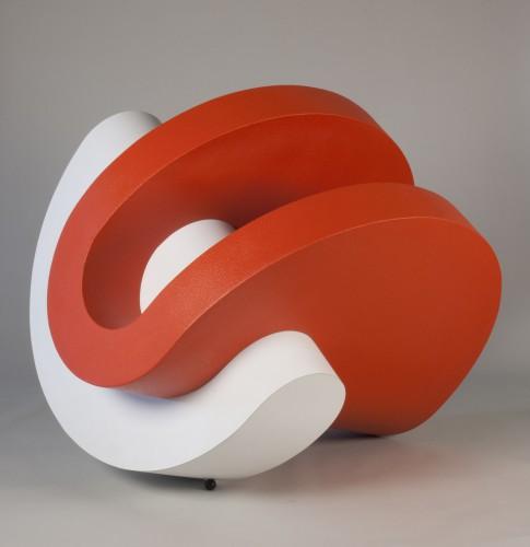 Michael Johnson sculpture