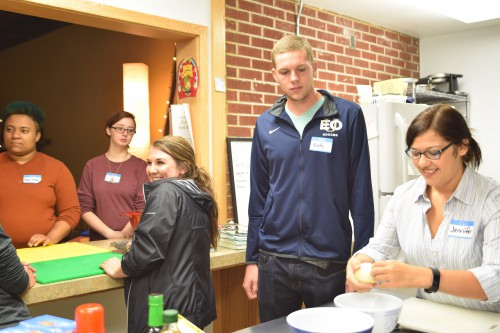Cooking Matters class at EOU