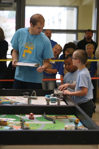 Lego Robotics competition at EOU 2018