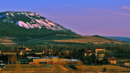EOU Campus+Mt. Emily