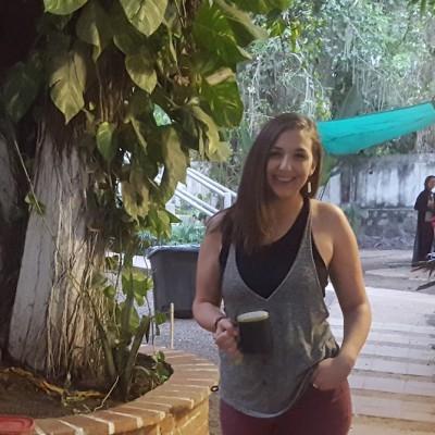 EOU student Kari Koznek student-teaches in Sayulita, Mexico while working toward a masters