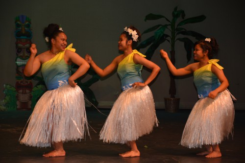 Island Magic Luau at EOU 2015