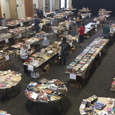 SAGE Book Sale 2017 at EOU