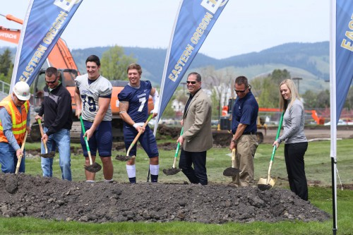Stadium-Track Project celebrates official ground-breaking